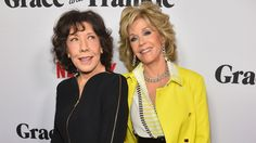 Jane Fonda and Lily Tomlin talk tackling aging with humor and honesty in Grace And Frankie
