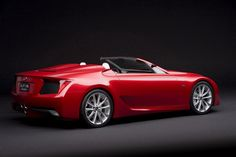 Love this car Lexus lfa roadster