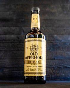 Old Overholt 114 Proof Rye Rye Whiskey, Cigars And Whiskey, Whiskey Bottle, Honey Butter, Dried Cherries, Colored Glass, Bourbon, Liquor, Girlfriends