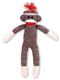 451619eadc04 The classic Sock Monkey makes a wonderful gift. He is very soft and  huggable and