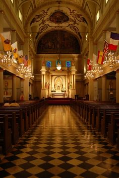 St. Louis Cathedral in New Orleans prides itself on being the oldest active cathedral in the United States.