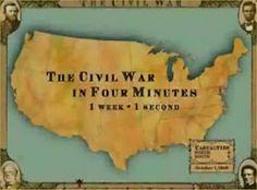 US History Teachers Blog: Civil War in Four Minutes