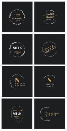 Watermark Ideas, Abstract Iphone Wallpaper, Organic Logo, Vector Logo Design, Typographic Logo, Badge Design, Logo Design Inspiration, Design Ideas, Tee Shirt Designs