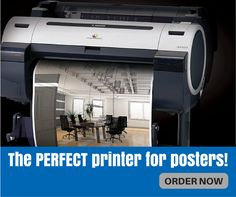 Are you using the right #printer for your posters? We have IDEAL printer for posters!