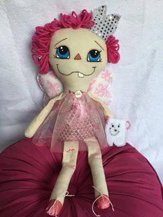 Tooth fairy dollstooth fairytooth holderhandmade