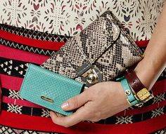 The new Hayden-Harnett clutches and wallets are on sale. Ooh!