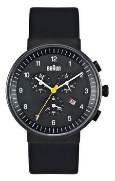 Braun Chronograph Watch