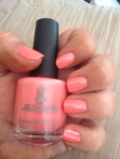 Jessica Custom Nail Colour in Juicy Melon. http://www.gerrardinternational.com/juicy-meloncustom-nail-colour-457.html