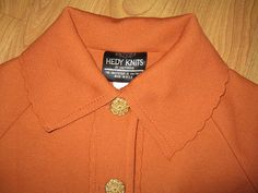 Vintage 60s Hedy Knits of California Jacket Sweater by twysp2, $29.00