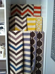 getting graphic with new rugs at #hpmkt (via @rosenberryrooms)