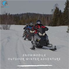 Who's excited for snowmobiling? These are. Come take a Guided Continental Divide tour with Grand Adventures today! — at Grand Adventures Snowmobile and Off-Road Tours.  #outdoorwinteradventure #coloradosnowmobiletrails #snowmobilinggrandlake #winterparkactivities #snowmobilingwinterpark