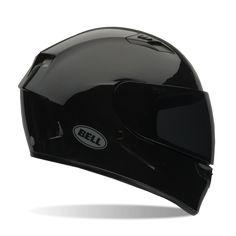 Bell Qualifier Street Helmet, Street Helmet, Bell, Solid Black Gloss  - Langston Motorsports