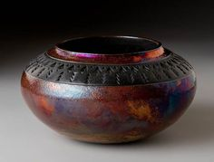 Brennan Mike Raku Pottery | Raku Pottery for Sale | Gallery: Raku Pottery