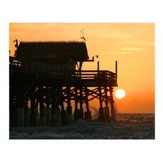 .Beach Decor Cocoa Beach Sunrise 0107 from wgilroy's Seaside gallery for $20.00