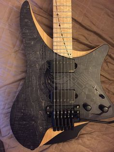 "* STRANDBERG guitars ~ ""Masvidalien"" ~ Here is a link for their website > https://strandbergguitars.com/gallery/ ~ The link below is NOT the website - just a Pinterest page ..."