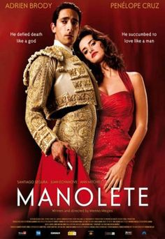 Manolete (film) - Alchetron, The Free Social Encyclopedia Adrien Brody, Penelope Cruz, Paperback Writer, In And Out Movie, Go To Movies, We Movie, Film Movie, Costume, Guys Be Like