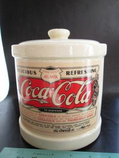 Coca-Cola Crock Cookie Jar