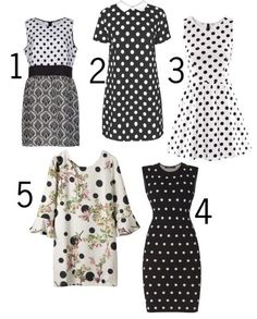 How to Wear: Black & White with Polka Dots: an easy style trend to tackle!