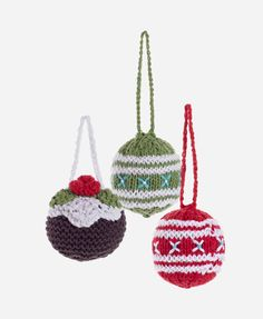 crochet christmas balls - Google Search
