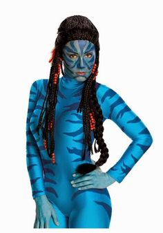 Halloween is right around the corner. Shop away your #mondayblues  and purchase this costume #Neytiri #costume #halloween #dressup #college #coed #life #trickortreat #boo #girloncampus  #goc  click on link in bio for more details