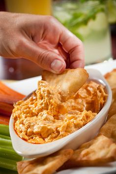 Buffalo Chicken Dip, yum