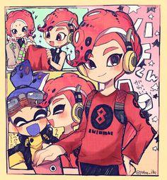 Splatoon 2 Game, Splatoon Comics, Wii U, Pokemon, Manga Characters, Cristiano, Anime, Chibi, Fanart
