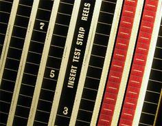 LIGHTBOX 66 Film Leader Countdown Vintage 35mm by MiniLoop