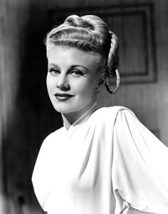 """Ginger Rogers. Publicity still for """"Weekend at the Waldorf""""."""
