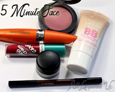 5 five minute face makeup beauty mac maybelline covergirl Makeup Wars   The 5 Minute Face Challenge