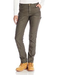 Carhartt Women's 1889 Slim Fit Canvas Dungaree - http://darrenblogs.com/2015/12/carhartt-womens-1889-slim-fit-canvas-dungaree/
