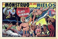 """""""Flas Gordon"""" (1942), de Alex Raymond y Don Moore. Editado por Hispano Americana."""