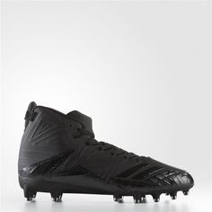 new concept ec356 a2e67 Adidas Freak X Carbon Mid Cleats (Core Black   Black   Black) Adidas  Baseball