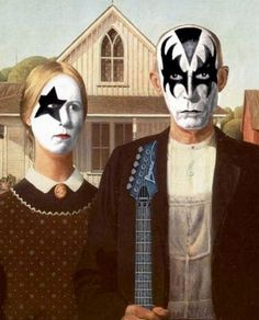 American Gothic Parodies