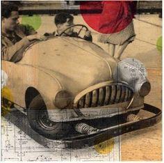 . vintage auto art
