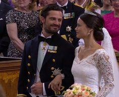 En Directo: Boda Real Carlos Felipe de Suecia y Sofia Hellqvist