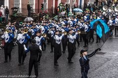 St. Patrick's Day Parade (2013) In Dublin - Bartlesville High School Marching Band, Oklahoma, USA [The Streets Of Ireland]