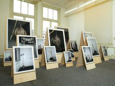 Jonge Meesters, exhibition scenography.
