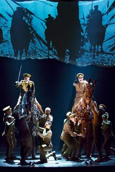 War Horse on Broadway — Production of the National Theatre of Great Britain  (Opened April 14, 2011 at the Vivian Beaumont)