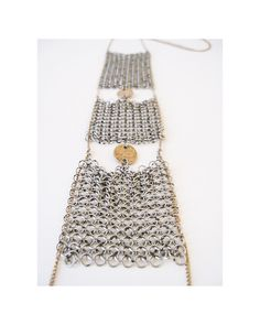 Stacked Chainmail Necklace