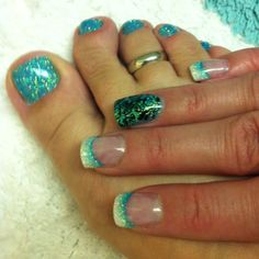 1st nails and toes of 2012!!