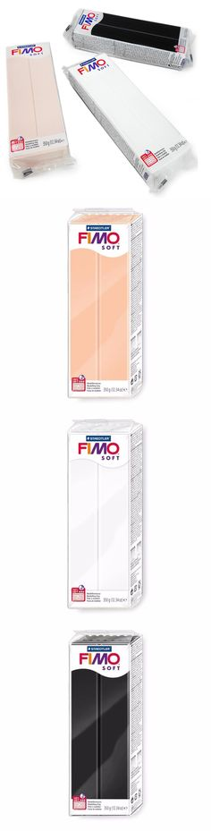 Set of 5 Chocolate Oven Bake Clay FIMO Soft 350g Polymer Modelling Clay
