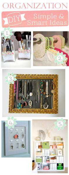 I love organizing!