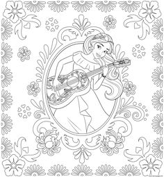 Princess Elena of Avalor disney princess coloring pages printable and coloring book to print for free. Find more coloring pages online for kids and adults of Princess Elena of Avalor disney princess coloring pages to print. Forest Coloring Pages, Cartoon Coloring Pages, Animal Coloring Pages, Colouring Pages, Coloring Books, Coloring Sheets, Disney Princess Coloring Pages, Disney Princess Colors, Drawing Ideas List