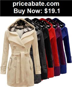 Women-Coats-And-Jackets: 2015 Fashion Womens Warm Winter Hooded Long Section Jacket Outwear Coat S# - BUY IT NOW ONLY $19.1