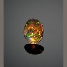 Very Fine Orange Jelly Opal