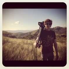 Still one of my favorite photos of all time! Rudy Kindler, Director of Photography on the Out on a Limb expedition, with his tripod and Camera in the Tripod, Charity, All About Time, Coast, My Favorite Things, Random, Awesome, Instagram Posts, Photos