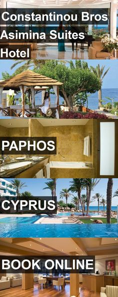 Constantinou Bros Asimina Suites Hotel in Paphos, Cyprus. For more information, photos, reviews and best prices please follow the link. #Cyprus #Paphos #travel #vacation #hotel
