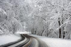 Winter, Wonderland, Landscape, Scenic, Snow, Ice, Trees. Public domain.