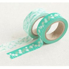 Dandelion Printed Washi Tape by ThePaperParlourUK on Etsy, £6.50