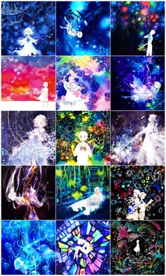 Vibrant neon art